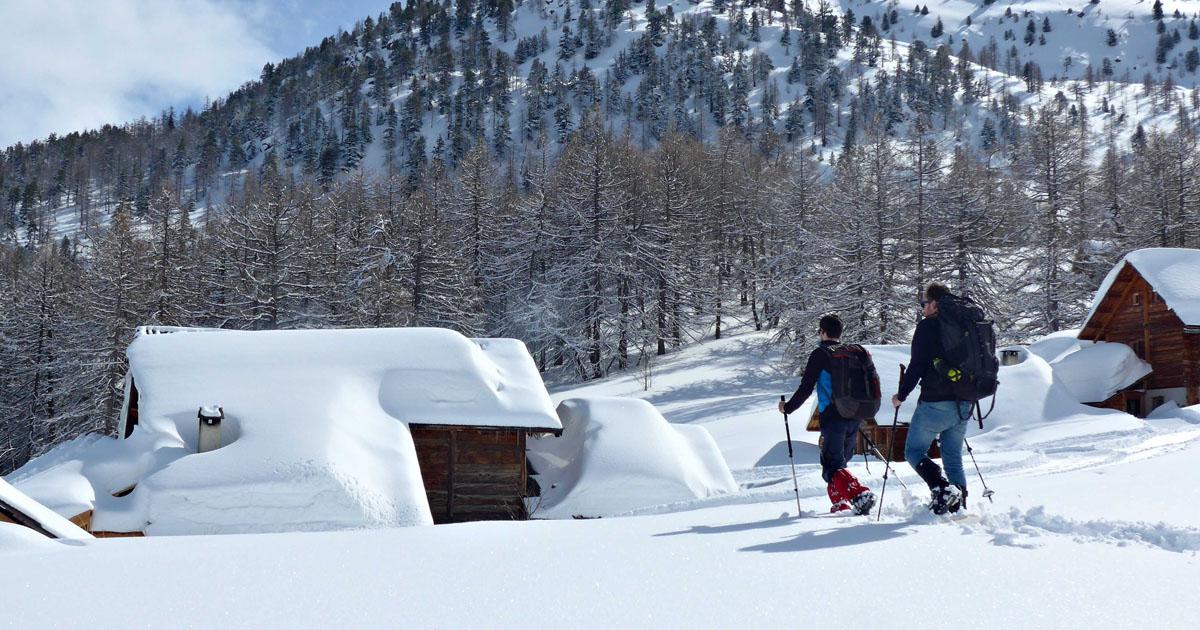 Séjour micro-aventure en hiver avec refuge